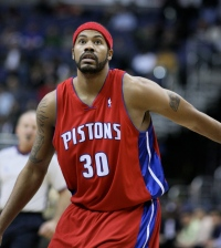 Rasheed  Wallace in Detroit. (Keith Allison via Flickr)